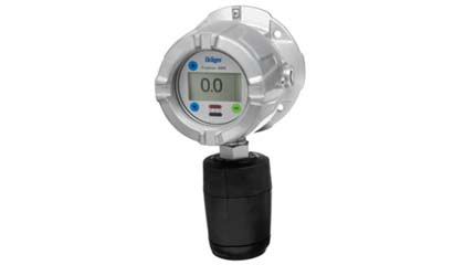 Draeger Polytron 8100 EC Explosion Proof Transmitter for Detection of Toxic Gases or Oxygen