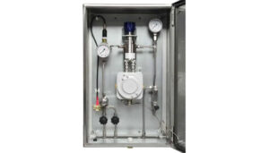Shaw Model SSNGH Natural Gas Sample System